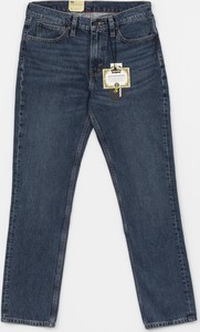 Niebieskie jeansy Levis z bawełny