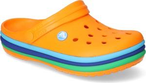 Pomarańczowe buty letnie męskie Crocs