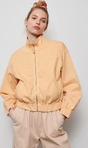 Pomarańczowa kurtka Reserved w stylu casual krótka