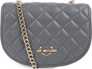 Torebka Love Moschino na ramię w stylu glamour