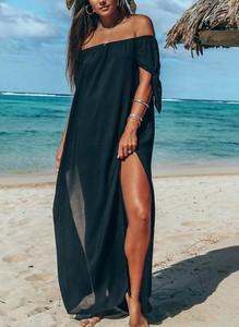Sukienka Sandbella w stylu boho hiszpanka