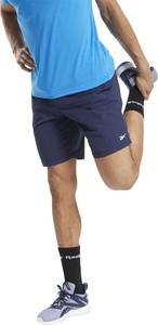Niebieskie spodenki Reebok w sportowym stylu