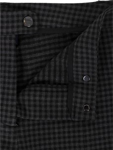 Czarne spodnie Armani Jeans z tkaniny