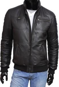 f38d0ad3cec41 skórzana kurtka ocieplana - stylowo i modnie z Allani