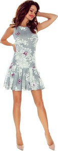 Sukienka Bergamo z okrągłym dekoltem w stylu casual bez rękawów