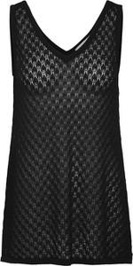 Czarna bluzka EDITED w stylu casual bez rękawów