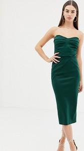 Zielona sukienka Asos bez rękawów