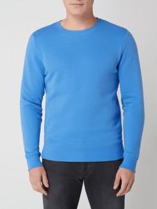 Niebieska bluza Montego w stylu casual z bawełny
