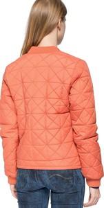 Różowa kurtka Lee krótka w stylu casual