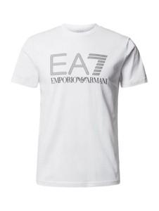 T-shirt Emporio Armani z nadrukiem z krótkim rękawem z bawełny