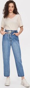Niebieskie jeansy House z jeansu