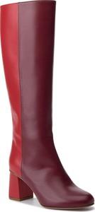 Czerwone kozaki Red Valentino