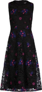 Sukienka DKNY trapezowa bez rękawów mini