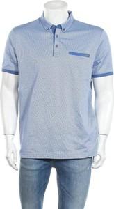 Niebieski t-shirt U.S. Polo z krótkim rękawem