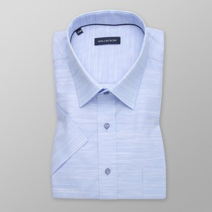 Niebieska koszula Willsoor z bawełny