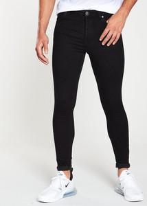 Czarne jeansy Gym King