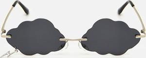 Czarne okulary damskie Cropp