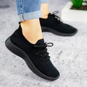 Buty sportowe sklep-szpilka24 z płaską podeszwą sznurowane