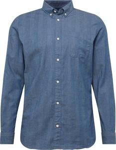 Koszula Jack & Jones z bawełny z długim rękawem z kołnierzykiem button down