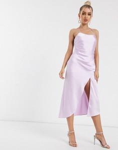 Fioletowa sukienka Significant Other na ramiączkach