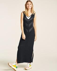 Czarna sukienka Heine w stylu casual