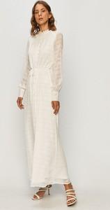 Sukienka Vero Moda z długim rękawem w stylu retro maxi
