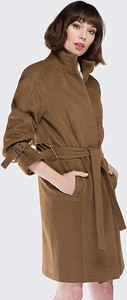 Brązowy płaszcz Wittchen