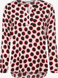 Czerwona bluzka comma, z dekoltem w kształcie litery v