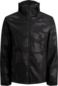 Czarne kurtki i płaszcze męskie moro, kolekcja zima 2020