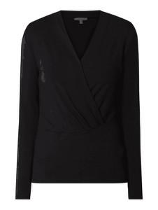 Bluzka Esprit z okrągłym dekoltem z długim rękawem