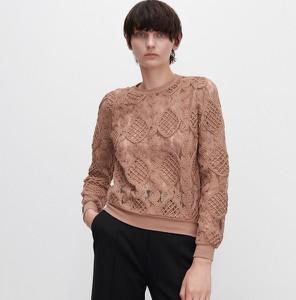 Bluzka Reserved z długim rękawem w młodzieżowym stylu
