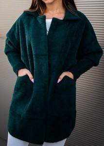 Płaszcz Fason w stylu casual z wełny