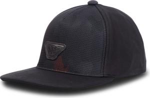 Granatowa czapka Emporio Armani