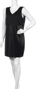 Czarna sukienka Sheego bez rękawów mini