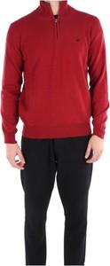 Czerwony sweter Brooksfield