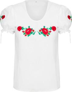 Bluzka JK Collection z okrągłym dekoltem