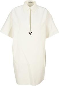 Sukienka Valentino mini z krótkim rękawem
