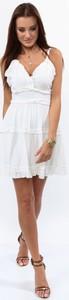 Sukienka Fasardi z tkaniny w stylu boho