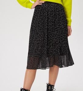Czarna spódnica Sinsay w stylu casual midi