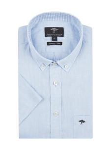 Niebieska koszula Fynch Hatton z lnu