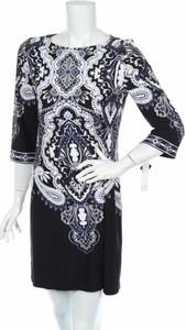Sukienka Sandra Darren z okrągłym dekoltem w stylu casual