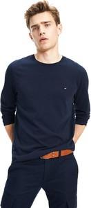Granatowa koszulka z długim rękawem Tommy Hilfiger
