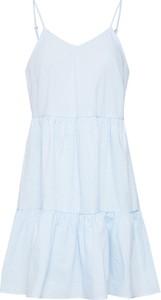 Niebieska sukienka Vero Moda mini