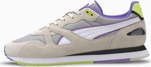 Buty sportowe Puma sznurowane z zamszu