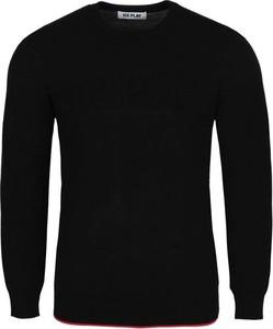 Czarny sweter Ice Play w stylu casual z wełny
