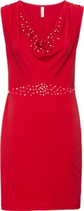 Sukienka bonprix BODYFLIRT boutique ołówkowa w młodzieżowym stylu bez rękawów