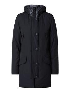 Granatowy płaszcz Blonde No. 8 w stylu casual