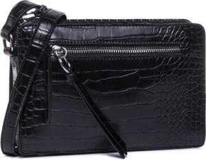 Czarna torebka Jenny Fairy z tłoczeniem