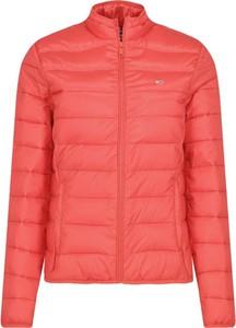 Czerwona kurtka Tommy Jeans w stylu casual