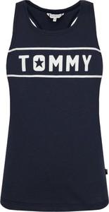 Czarna bluzka dziecięca Tommy Hilfiger